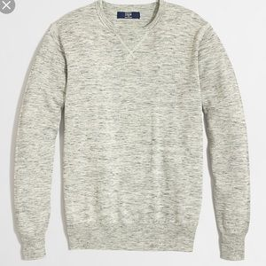 J. Crew Men's Heathered Gray Sweatshirt